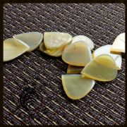 Jazz Tones - Clear Horn - 4 Guitar Picks | Timber Tones